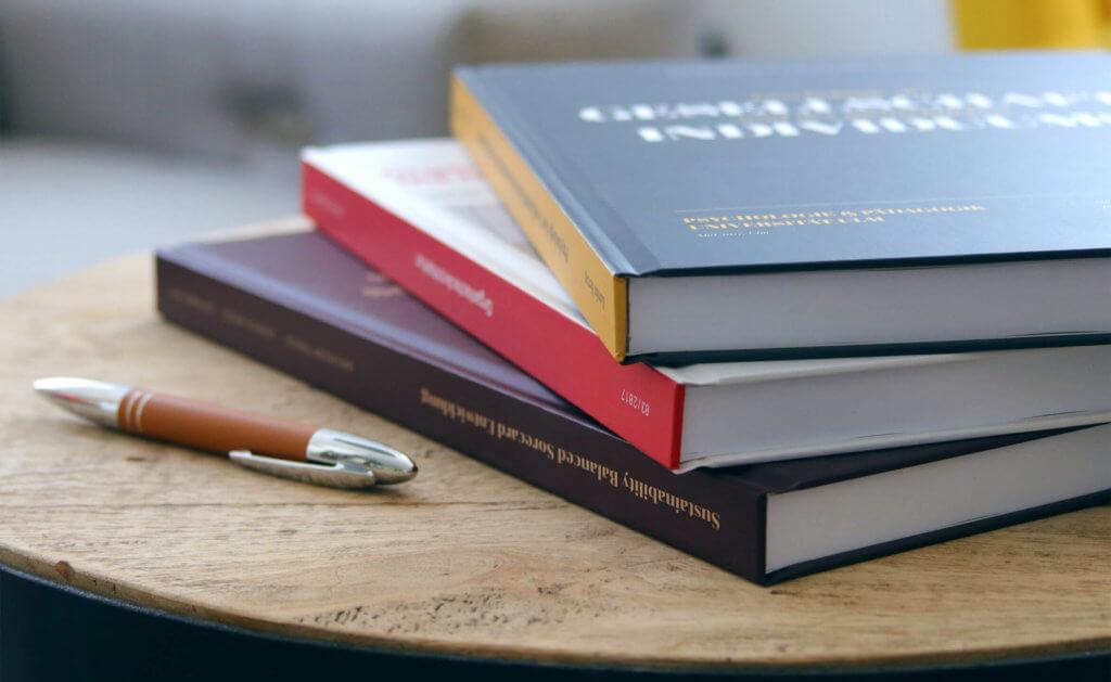 Bachelorarbeit drucken als Hardcover Design